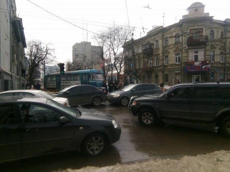 Пока Апелляционный суд рассматривал «дело Труханова», в Одессе произошли десятки аварий