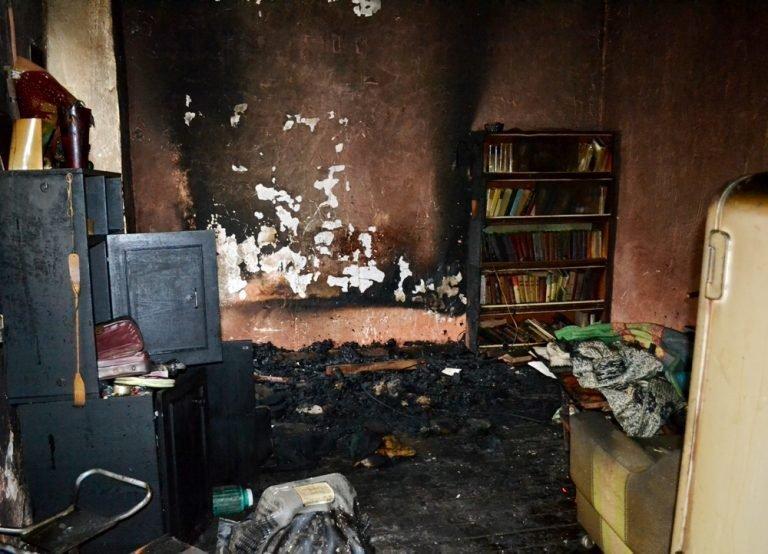Пожар лишил жизни пожилую женщину