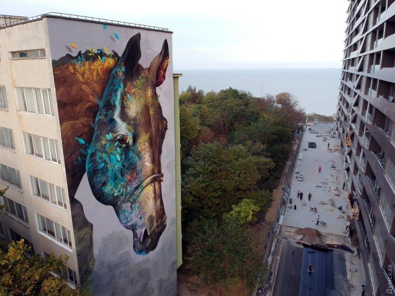 Одесский мурал признали одним из лучших арт-объектов мира