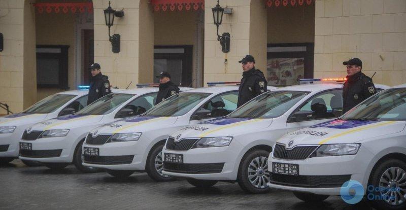 Полиция будет следить за порядком в Одессе, находясь на борту вертолета и катера