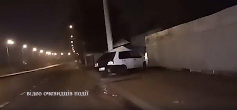 Трагическую аварию заснял свидетель (ВИДЕО)