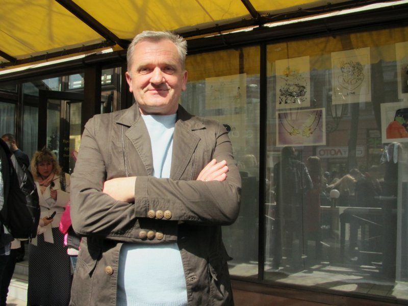 Художник-карикатурист Петр Сигута и его карикатуры (ФОТО)