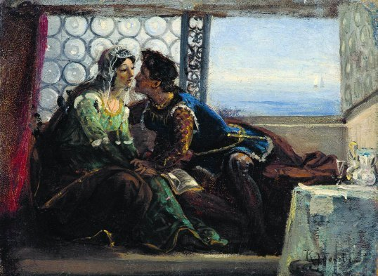 Горожанам покажут картину Маковского «Ромео и Джульетта»