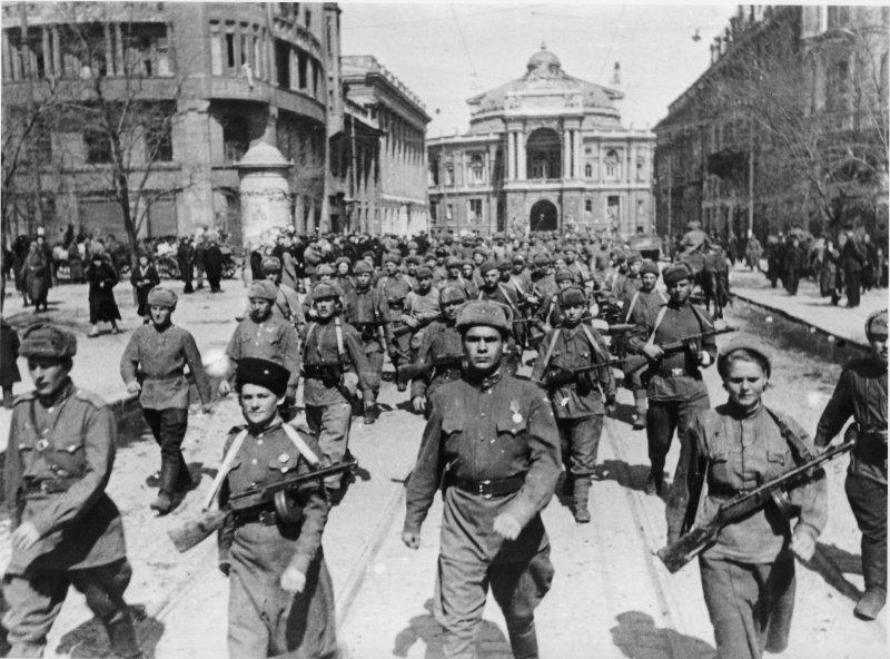 Как немецкие оккупанты хотели взорвать Одессу … но не смогли