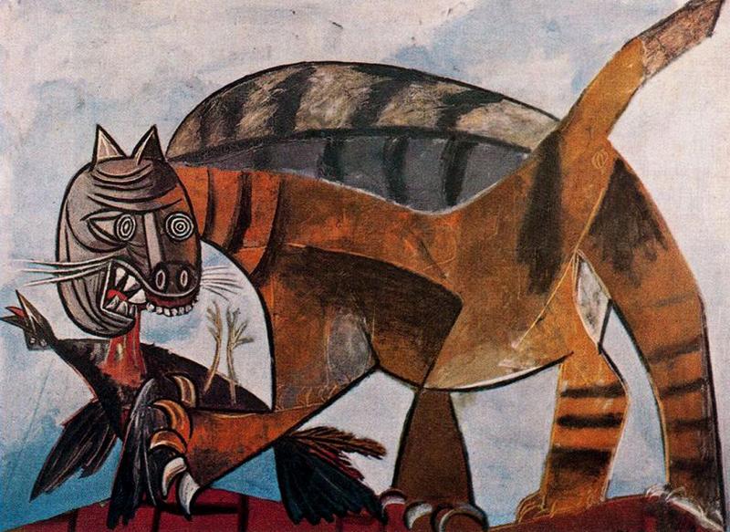 """""""Кот да Винчи"""": что делают коты на картинах известных живописцев или как коты котам помогли"""