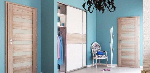 Модный дизайн межкомнатных дверей 2018