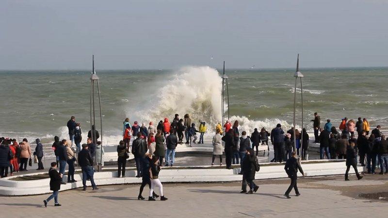 Море дало одесситам оторваться (ВИДЕО)