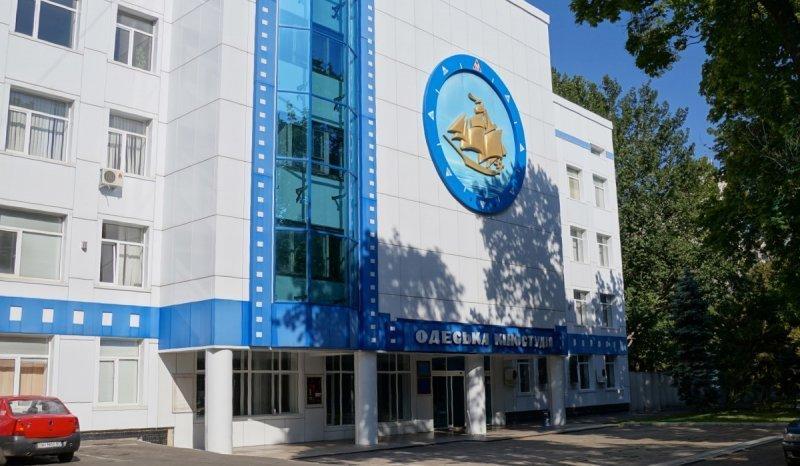 Пожар на Одесской киностудии (ВИДЕО)