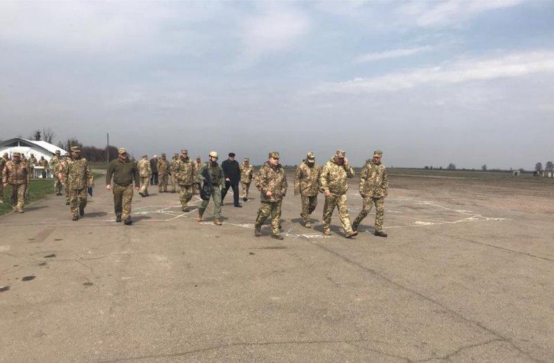 В Одесскую область прибыл Министр обороны, а Труханову запретили выезжать из Украины