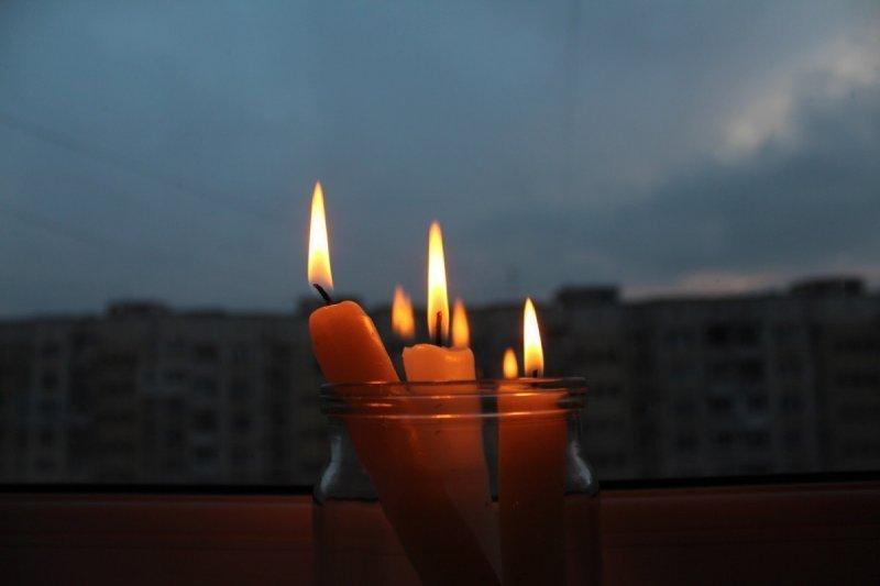 Отключение света: кто проведет день в темноте?