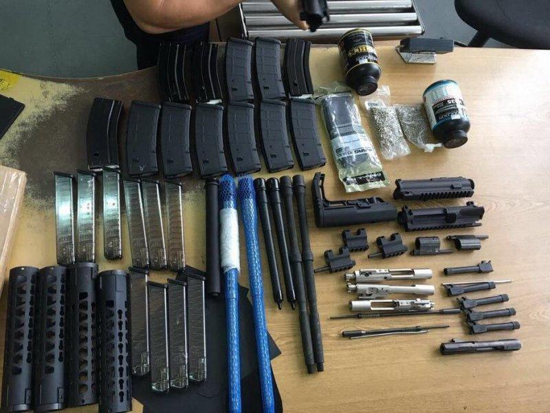 Одесситы торговали оружием из Европы и США (ФОТО)