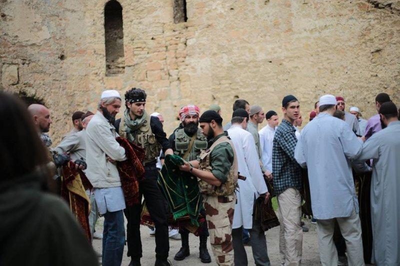 Арабские террористы в Аккерманской крепости (ФОТО)