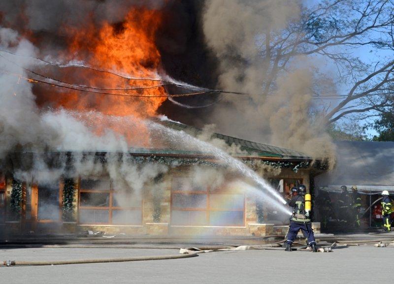В Одессе «поджарили» еще одно кафе (ФОТО, ВИДЕО)
