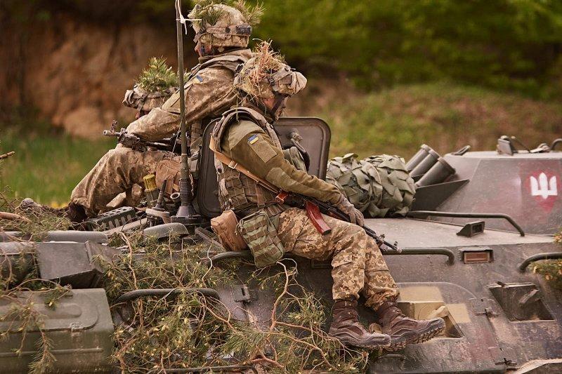 Как украинцы дали оторваться силам НАТО (ФОТО)