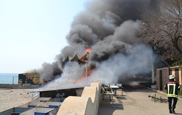 Ресторан «Песок»: названа причина пожара и сумма ущерба