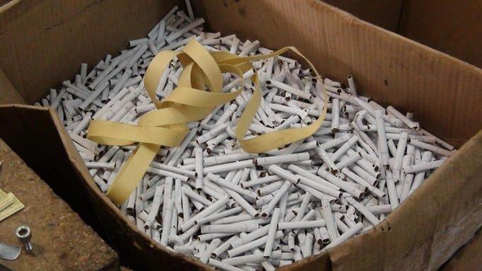 Сразу  в трех районах Одесской области выявили незаконное производство табачных изделий (ФОТО)