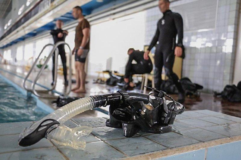 «Морские котики» тренируется в Одессе (ФОТО)