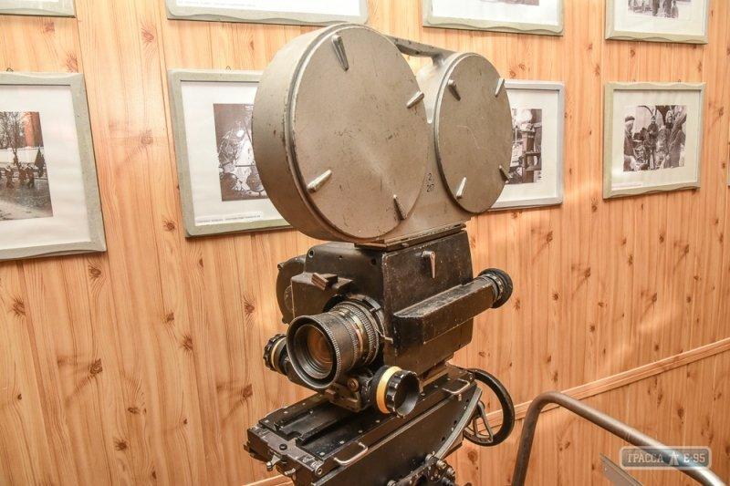 В Одессе появился уникальный музей киносъёмочной и осветительной техники