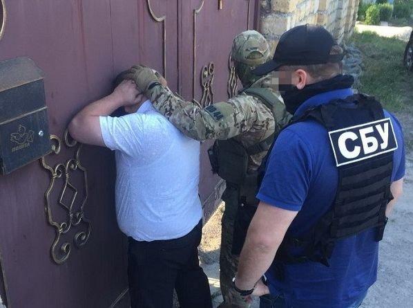 Начальник Шевченковского отделения полиции задержан на рабочем месте