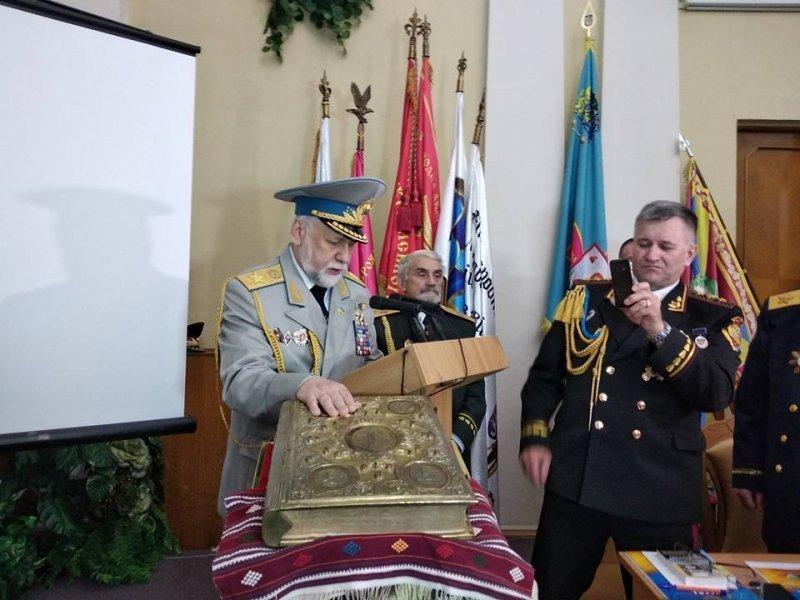 Новым всеукраинским гетманом стал бывший одесский юрист (ФОТО, ВИДЕО)