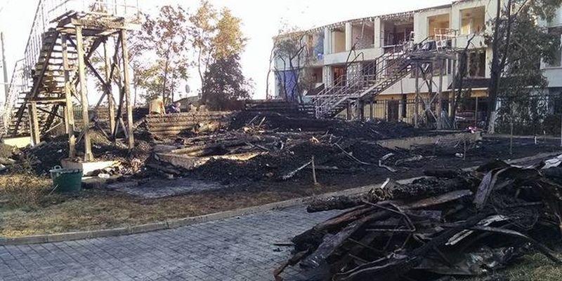 Дело о пожаре в «Виктории»: мэрия просит частично снять арест с лагеря
