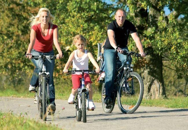 Выбираем велосипеды для прогулок всей семьей