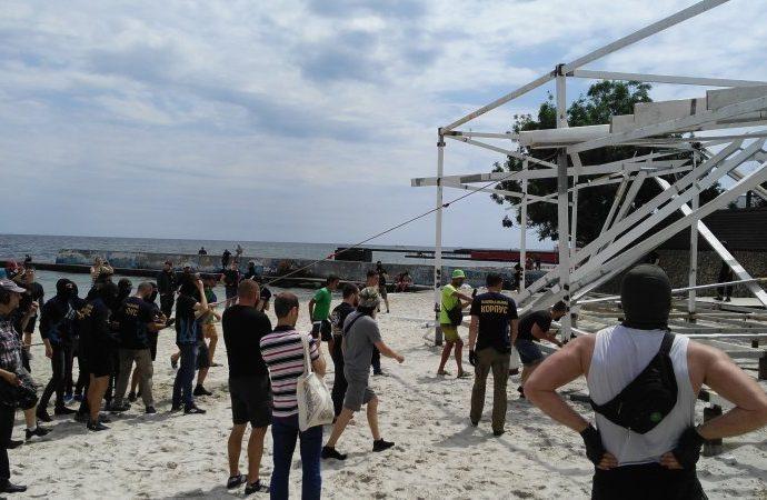 Пляжные войны в Одессе: как отстоять свое право на отдых у моря?
