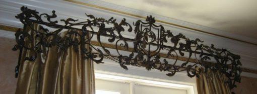 Карнизы – не только перекладины для штор, но и стильные элементы декора