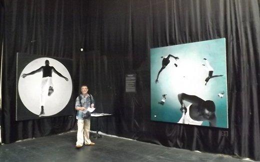 Народный художник Украины представил «Атональную реальность» (ФОТО)