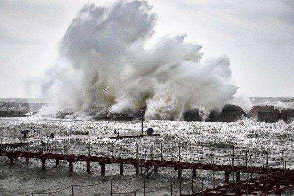"""Синоптики """"обещают"""", что в ближайшее время в Одессе начнется шторм"""