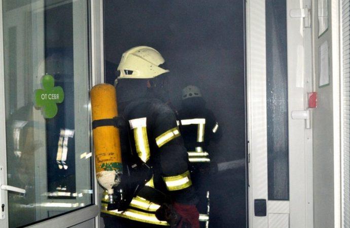 Пожар в электрощитовой обесточил высотку в Одессе