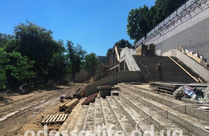 Греческий парк: все идет по плану (ФОТО)