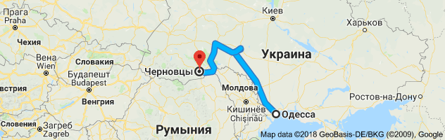 Лайфхак: как быстро доехать из Одессы в Черновцы
