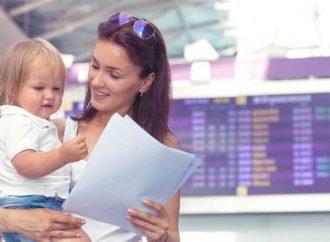 В Украине изменяются правила поездок с детьми за рубеж