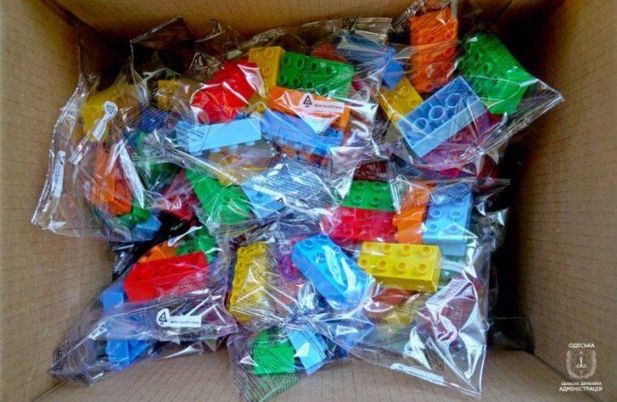 Первоклассники Одесской области будут учиться с LEGO