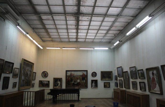 Меценаты спасают уникальный световой фонарь Художественного музея Одессы