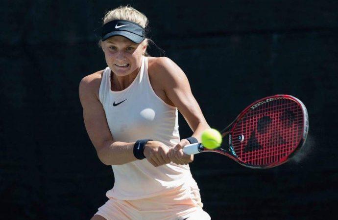 Одесская теннисистка добыла вторую подряд победу на турнире в Будапеште