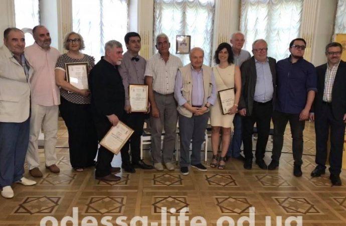 В Одессе вручили Литературную премию имени Бабеля (ФОТО)