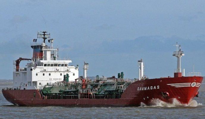 Второй за историю порта танкер с газом для заправки украинских авто прибыл в Одессу