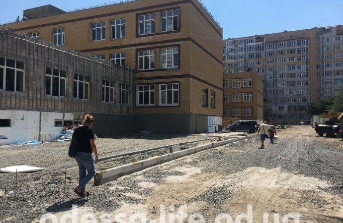 Школу на Маршала Говорова сдадут к 1 сентября