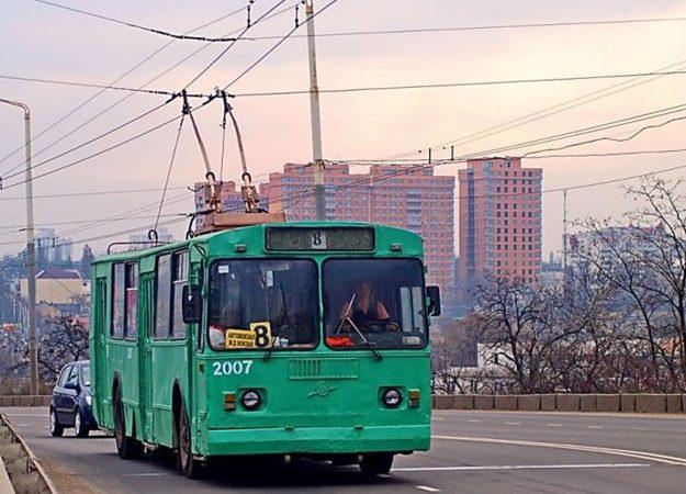 В Одессе временно не работает один троллейбусный маршрут