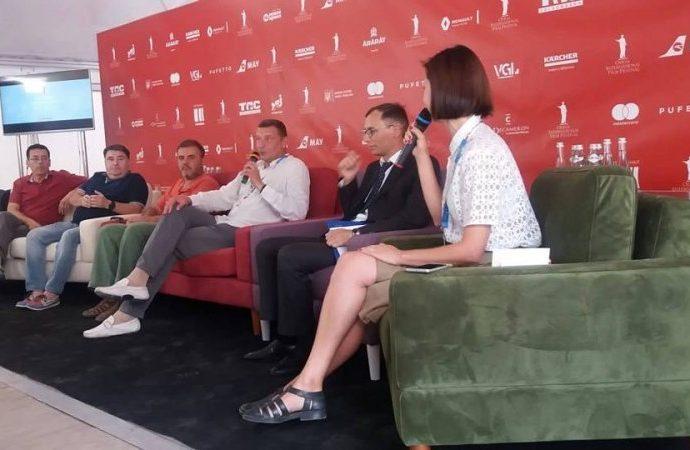 На ОМКФ-2018 презентовали будущий фильм о Кузьме Скрябине