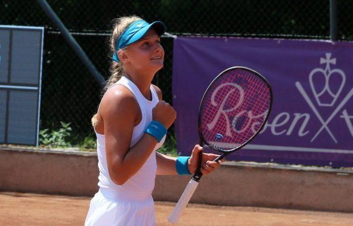 Юная одесская теннисистка успешно прошла квалификацию турнира Connecticut Open в США