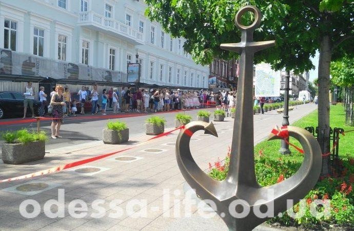 Имена семи звездных одесситов пополнили Аллею звезд Одессы (ФОТО)