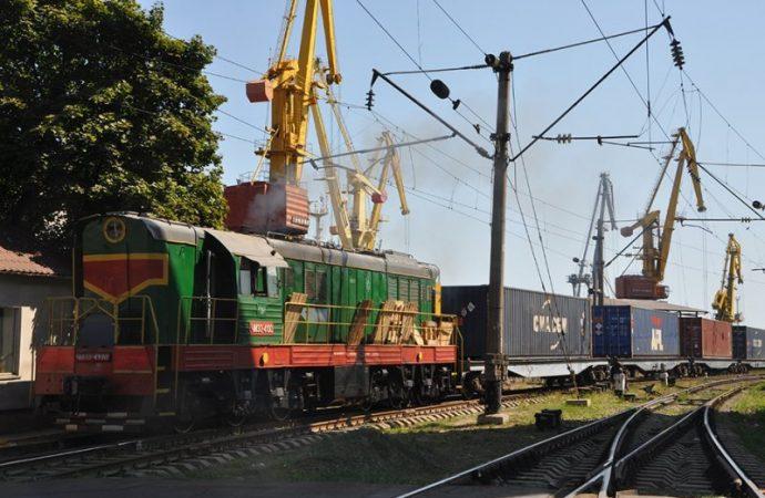 Из Одессы начал ходить прямой контейнерный поезд в Харьков