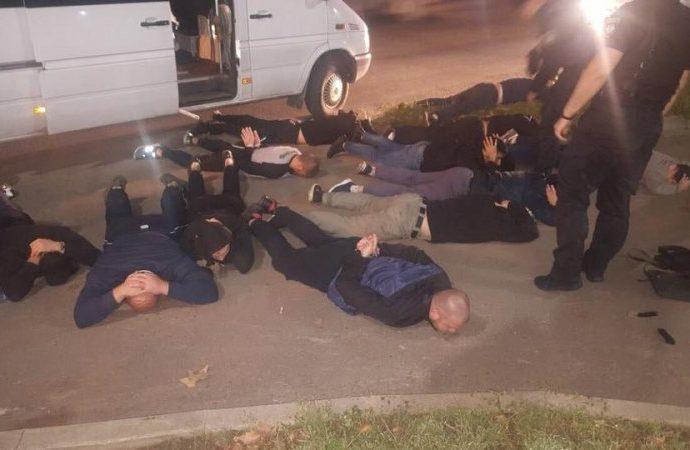 Вооруженных «гостей» из Киева задержали в Одессе этой ночью (ФОТО, ВИДЕО)