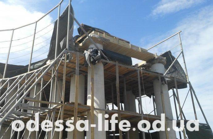 Заливка Бельведера бетоном не была предусмотрена проектной документацией – Ассоциация архитекторов Одессы