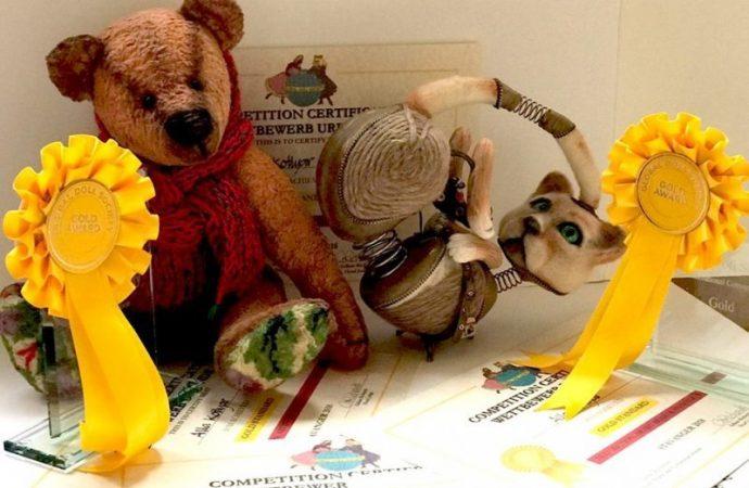 Игрушки одесской мастерицы стали лучшими на международном фестивале (ФОТО)