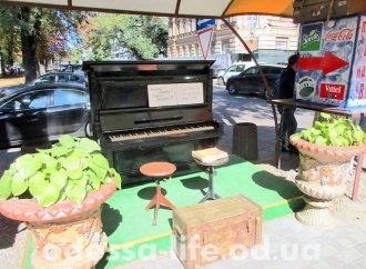 Одесская «Книжка» обзавелась собственным пианино