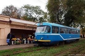 Драка в салоне трамвая остановила маршруты Люстдорфского направления